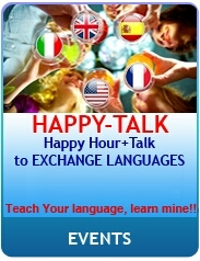 happy-talk @mangiaparole roma