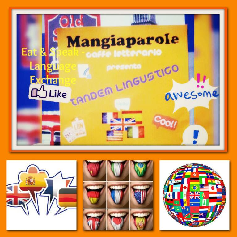 eat e speak tandem linguistico mangiaparole
